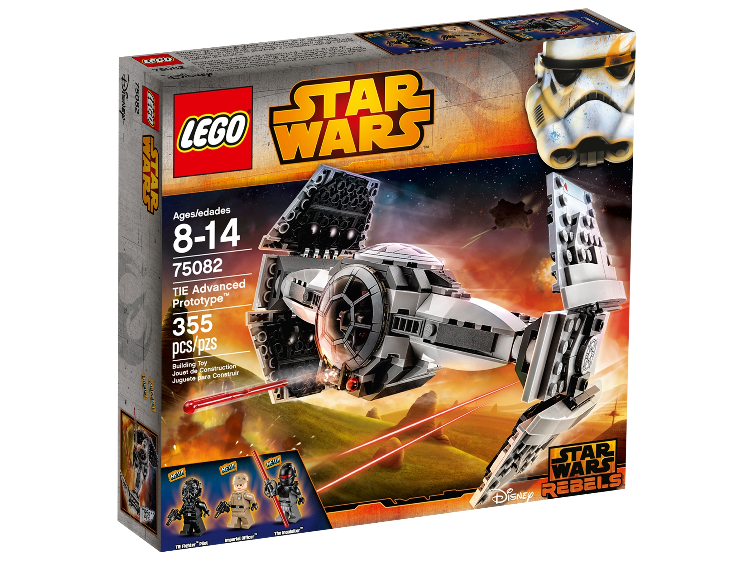 lego 75082 tie advanced prototype
