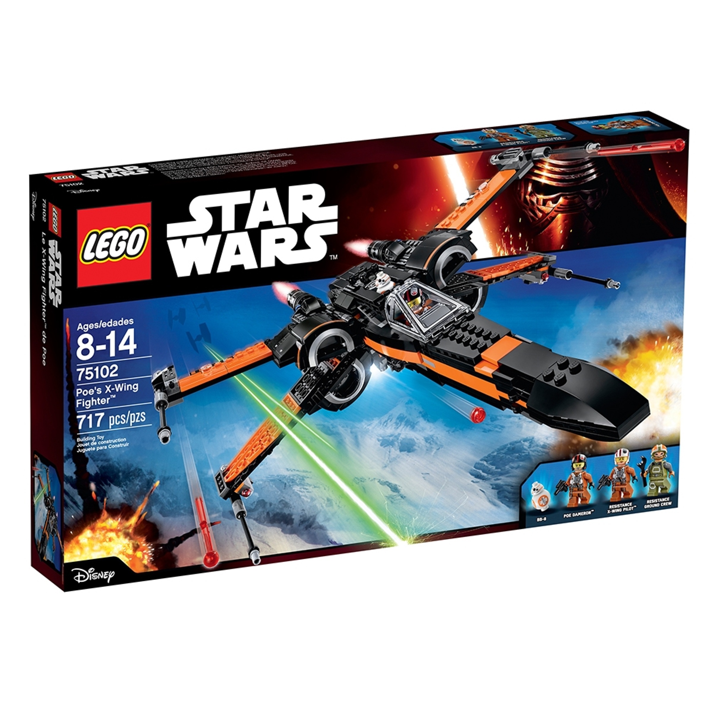 lego 75102 poes x wing fighter