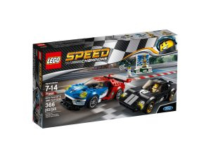 lego 75881 2016 ford gt ja 1966 ford gt40
