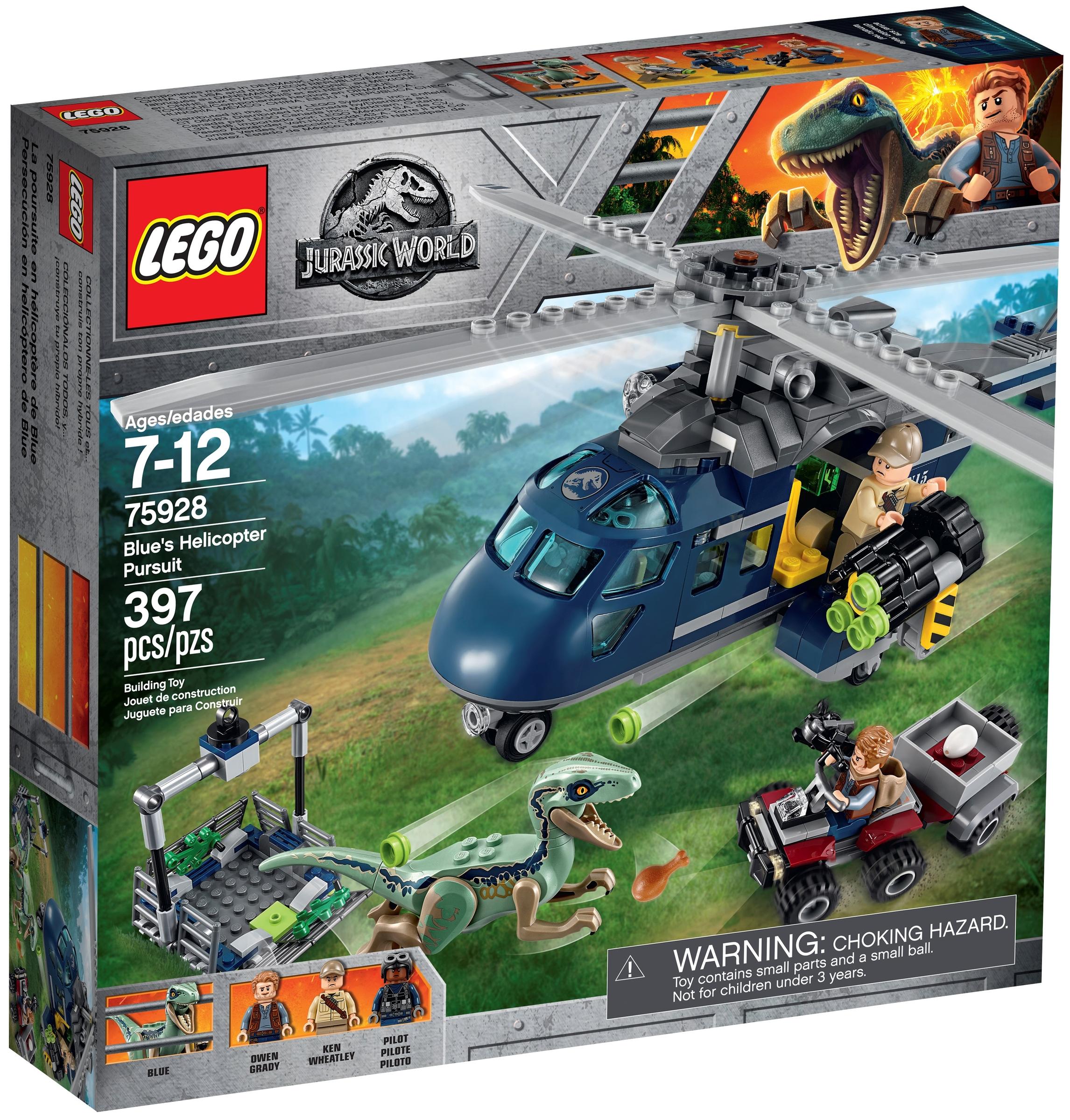 lego 75928 bluen helikopteritakaa ajo