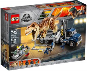 lego 75933 t rexin kuljetus