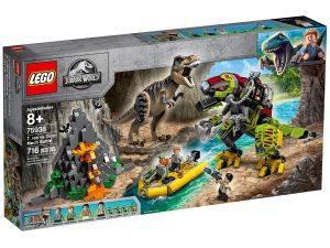 lego 75938 tyrannosaurus rexin taistelu dino robottia vastaan