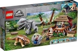 LEGO 75941 Indominus Rex vastaan Ankylosaurus