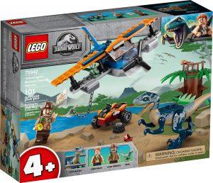 lego 75942 velociraptor pelastusoperaatio kaksitasolla