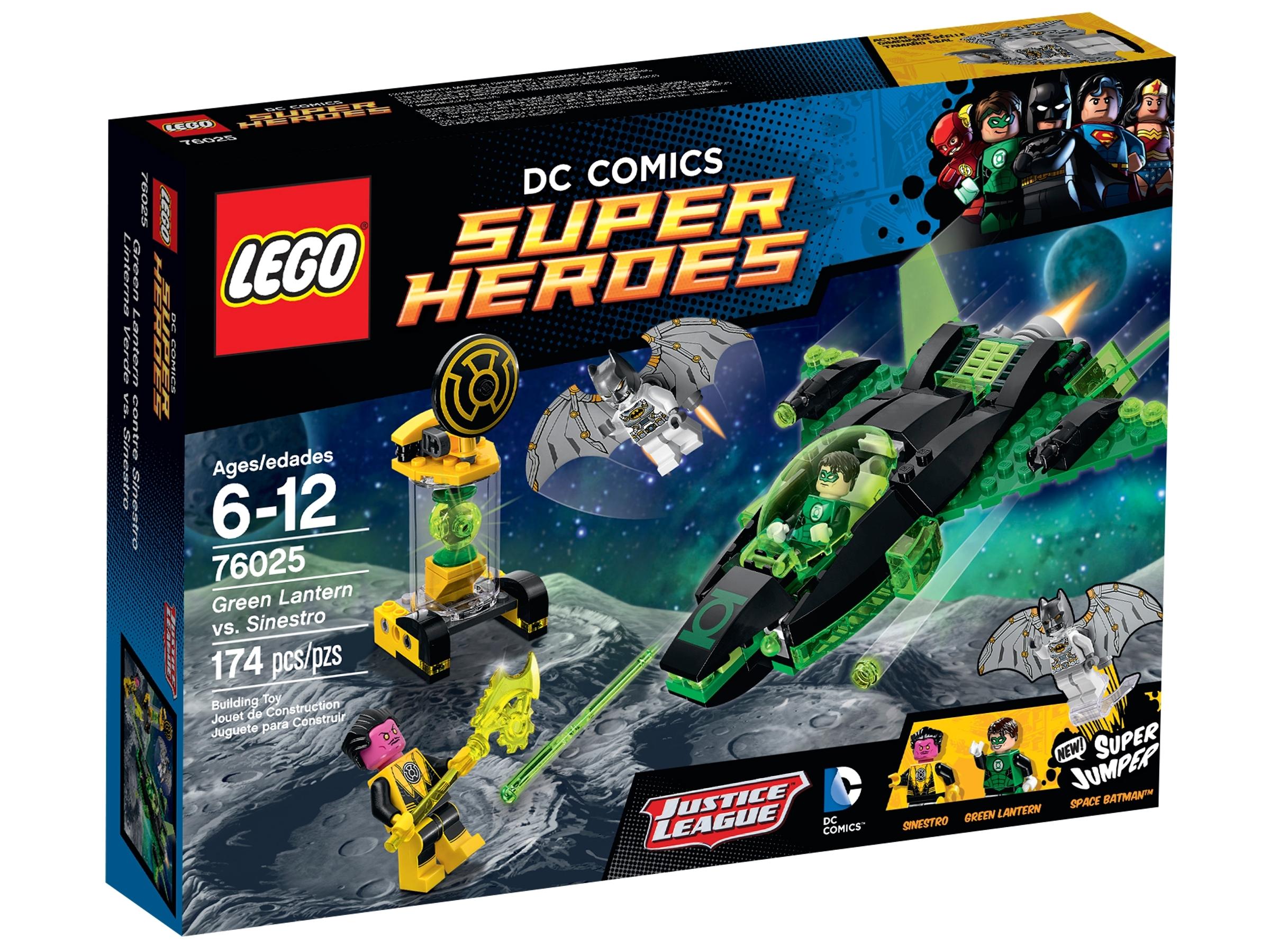 lego 76025 vihrea lyhty vastaan sinestro