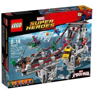 lego 76057 spider man seittisoturien hurja siltataistelu