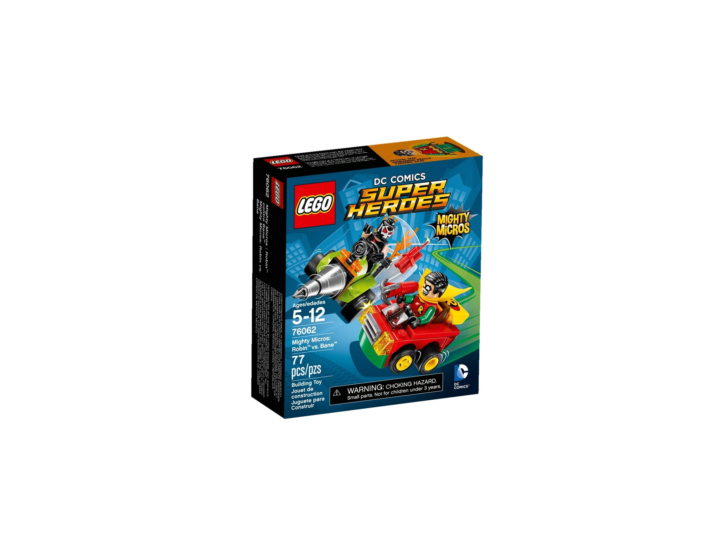 lego 76062 mighty micros robin vastaan bane
