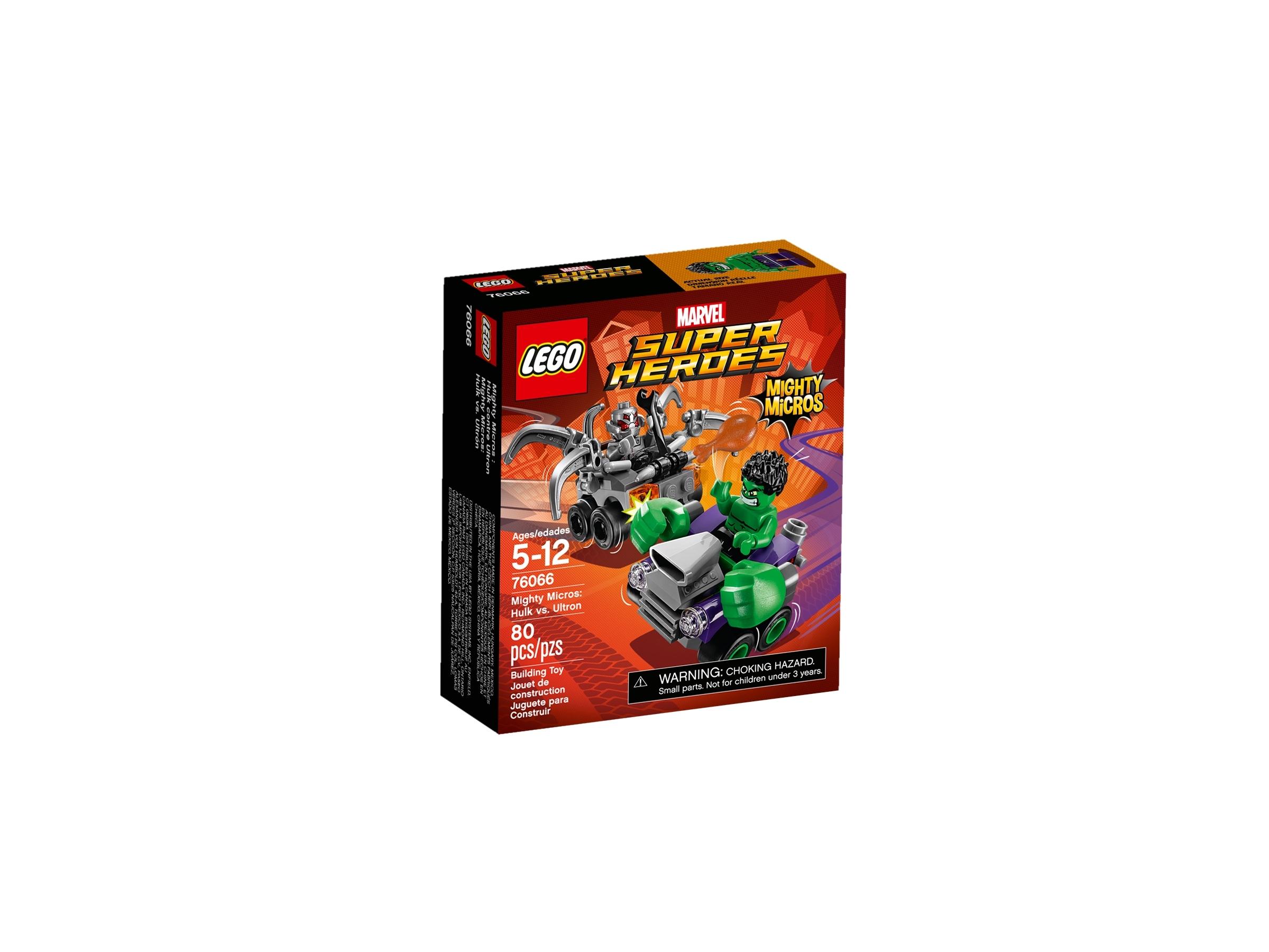 lego 76066 mighty micros hulk vastaan ultron