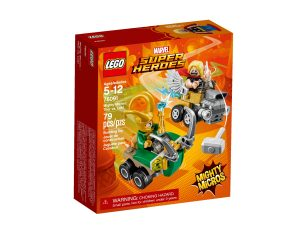 lego 76091 mighty micros thor vastaan loki