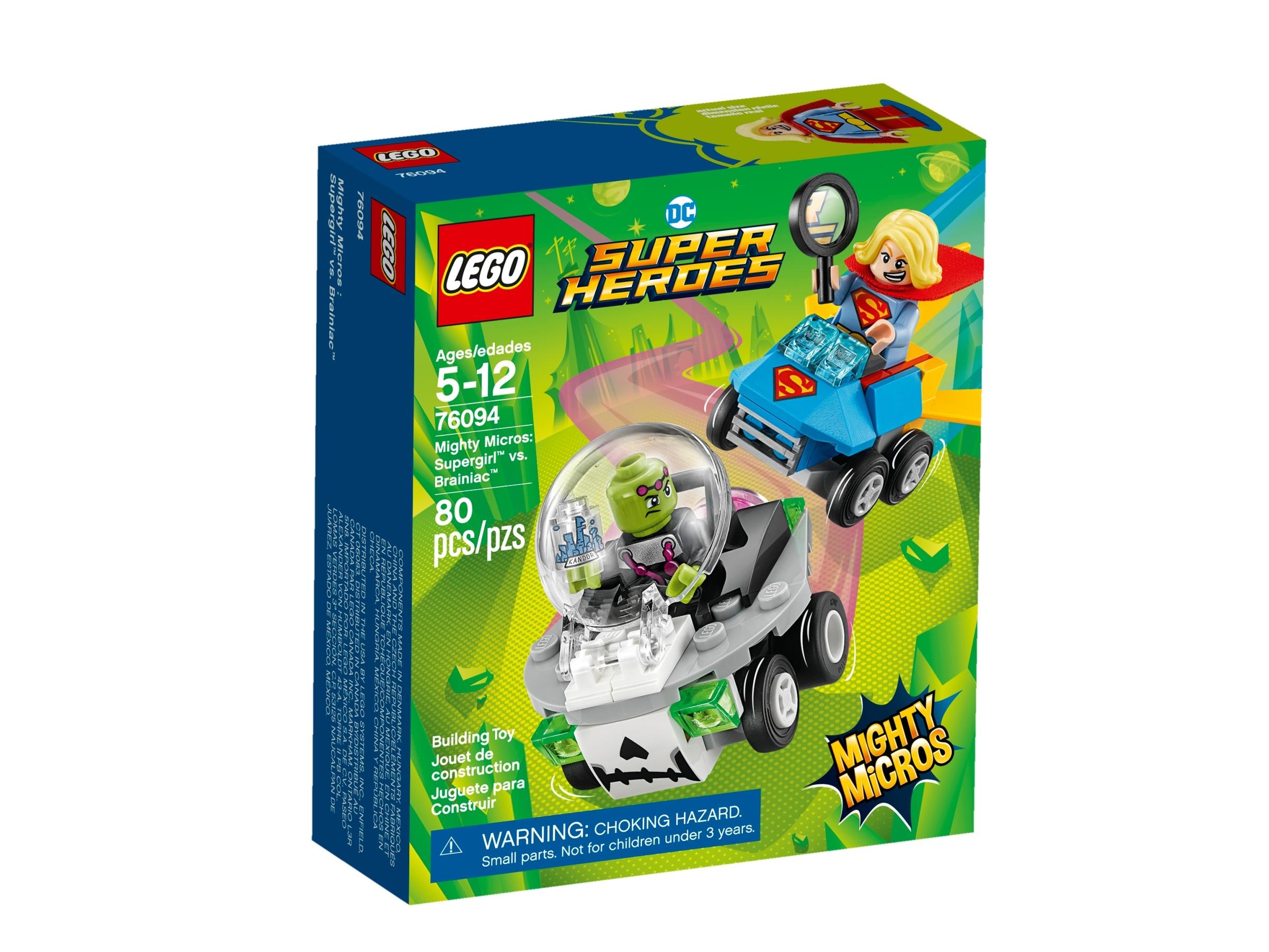 lego 76094 mighty micros supergirl vastaan brainiac