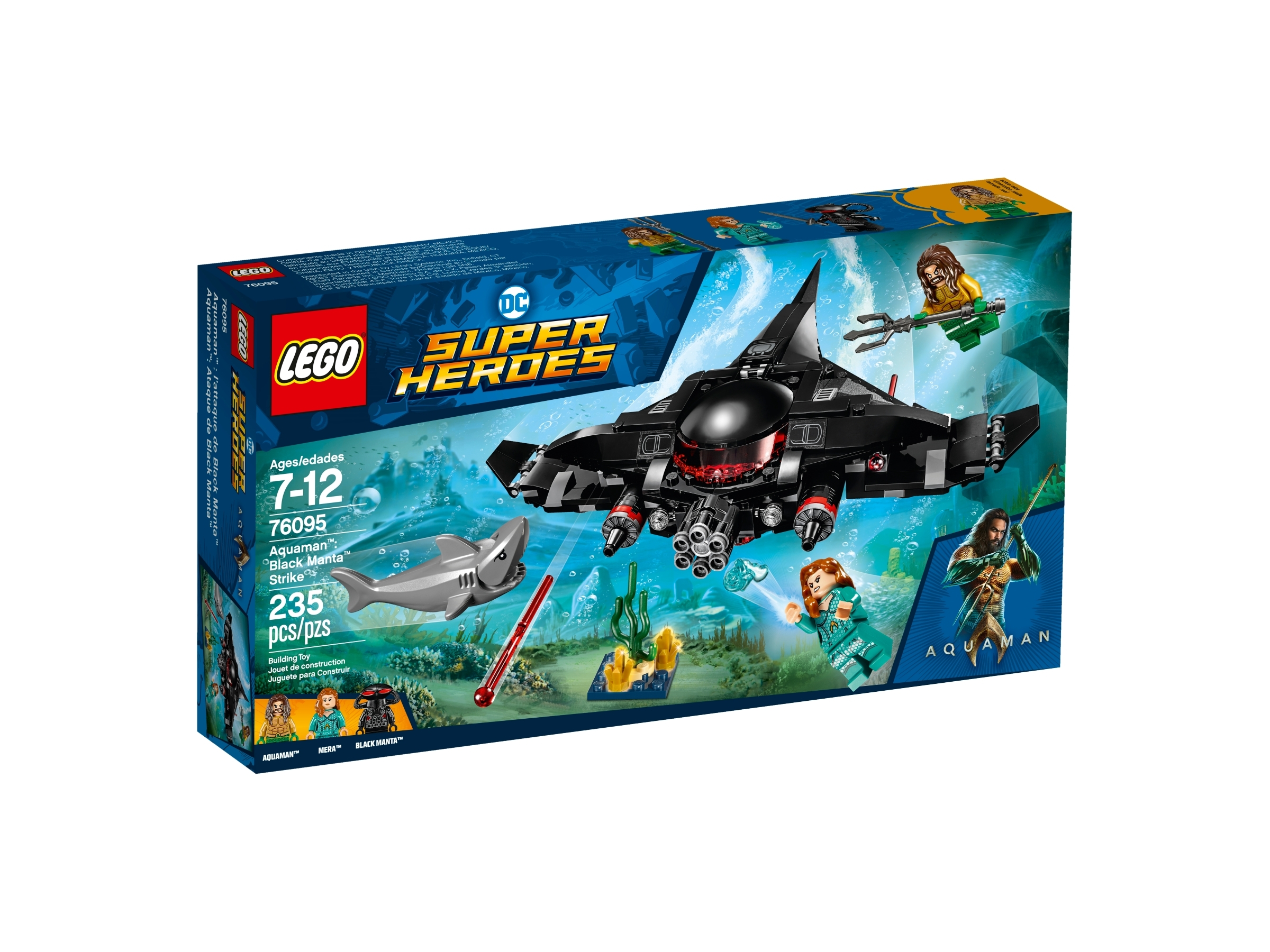 lego 76095 aquaman black mantan isku