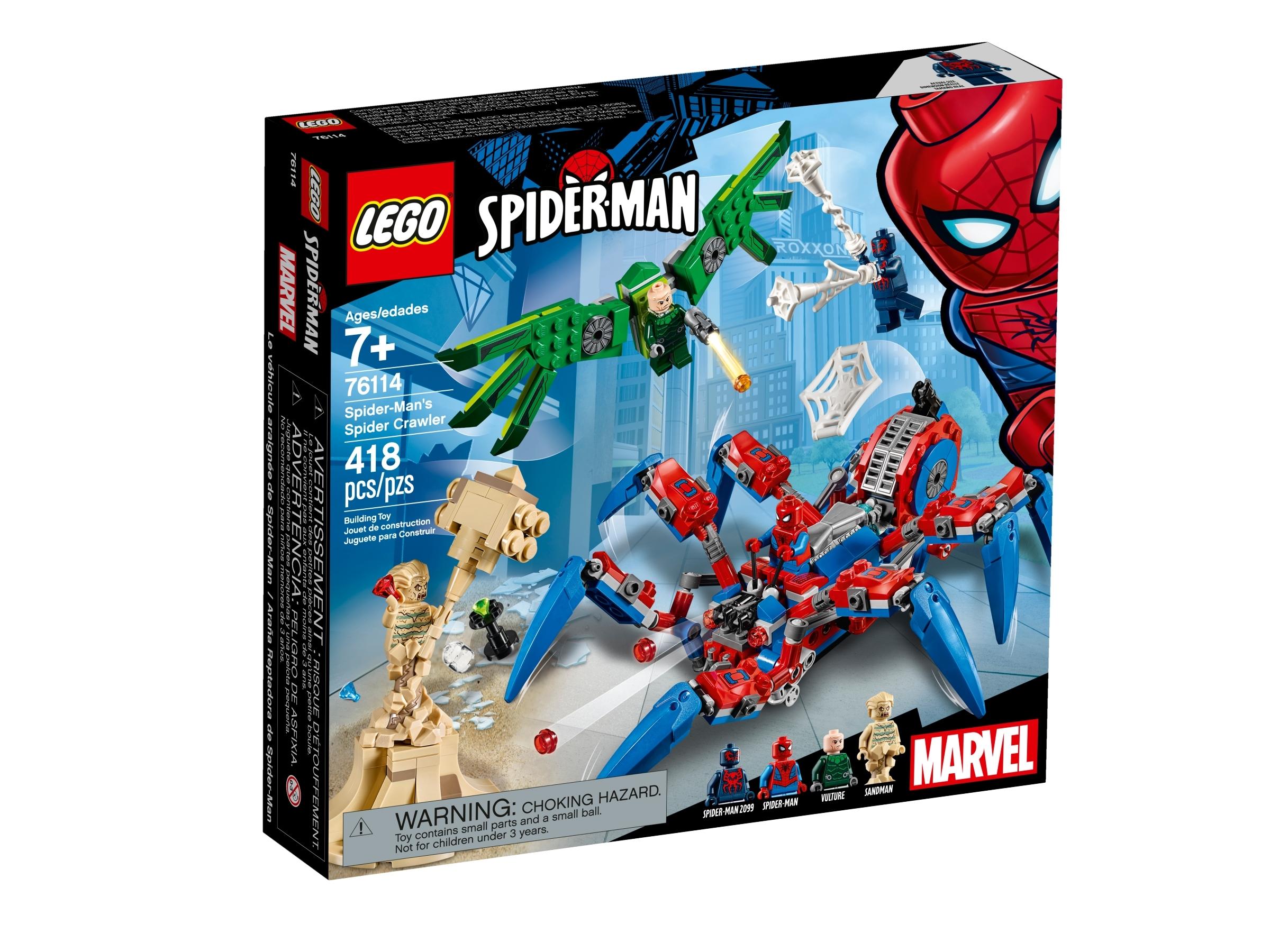 lego 76114 spider manin hamahakkimonkija