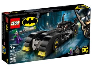 lego 76119 batmobile jokerin takaa ajo