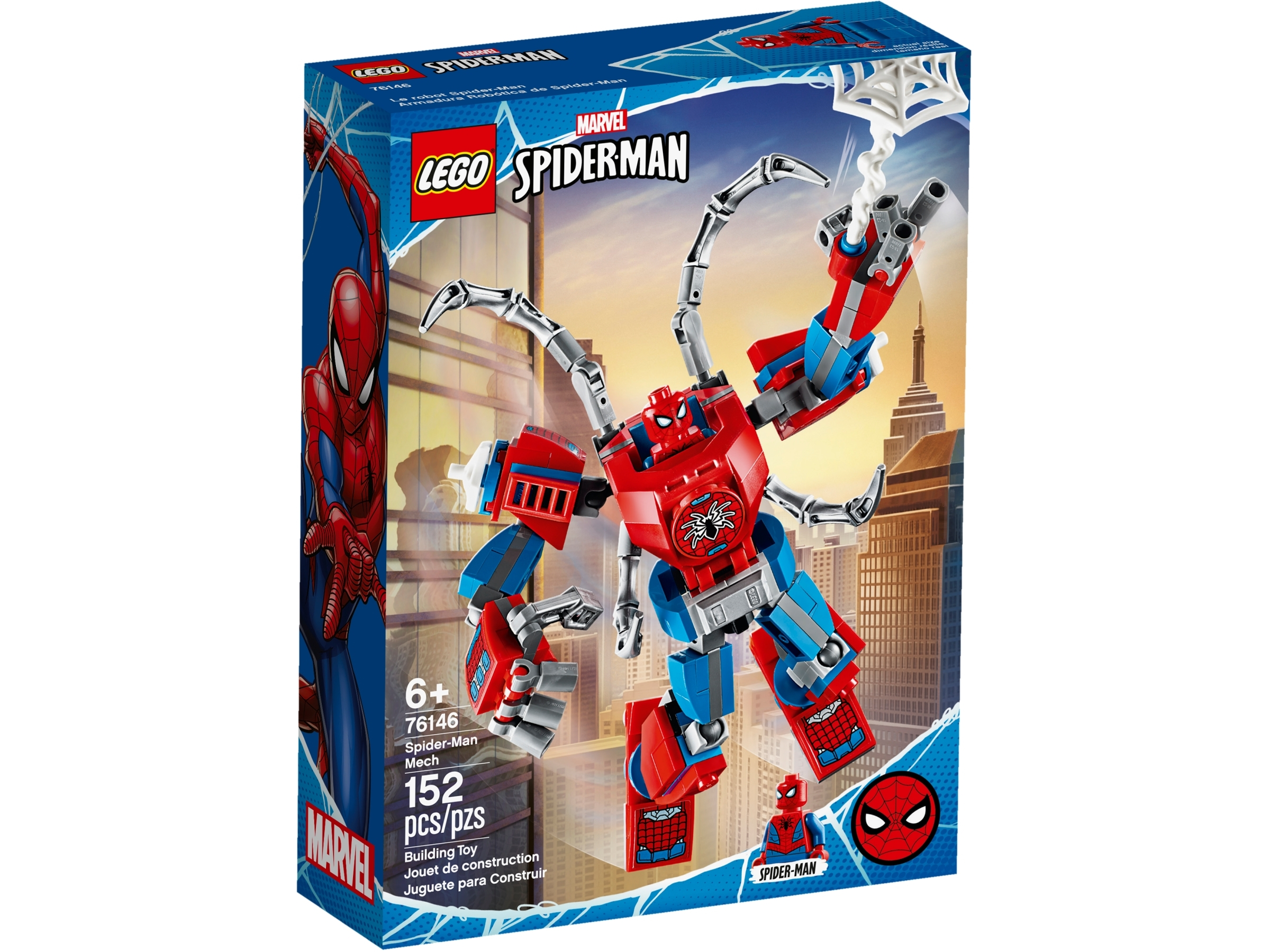 lego 76146 spider man robotti