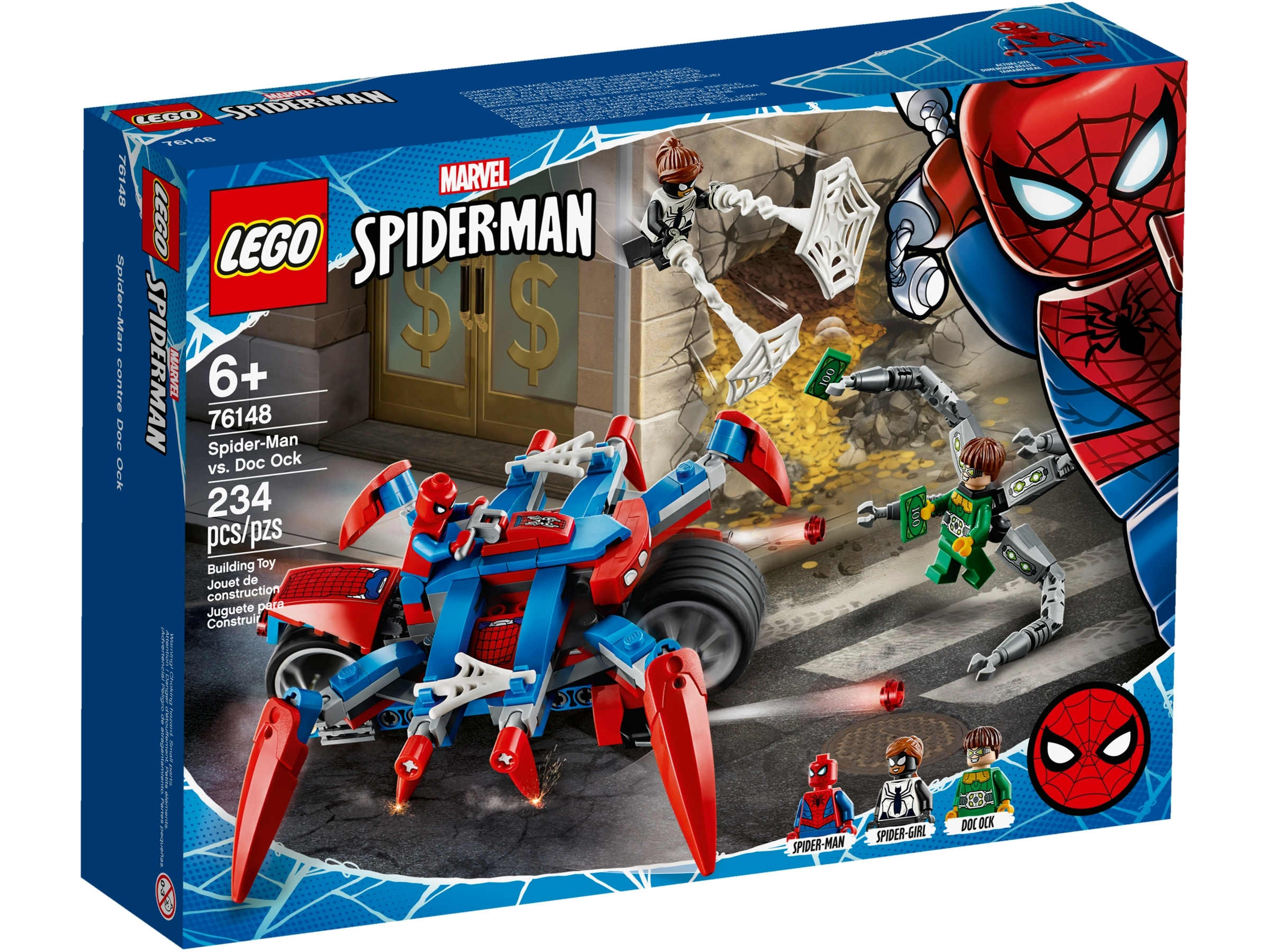 lego 76148 spider man vastaan doc ock