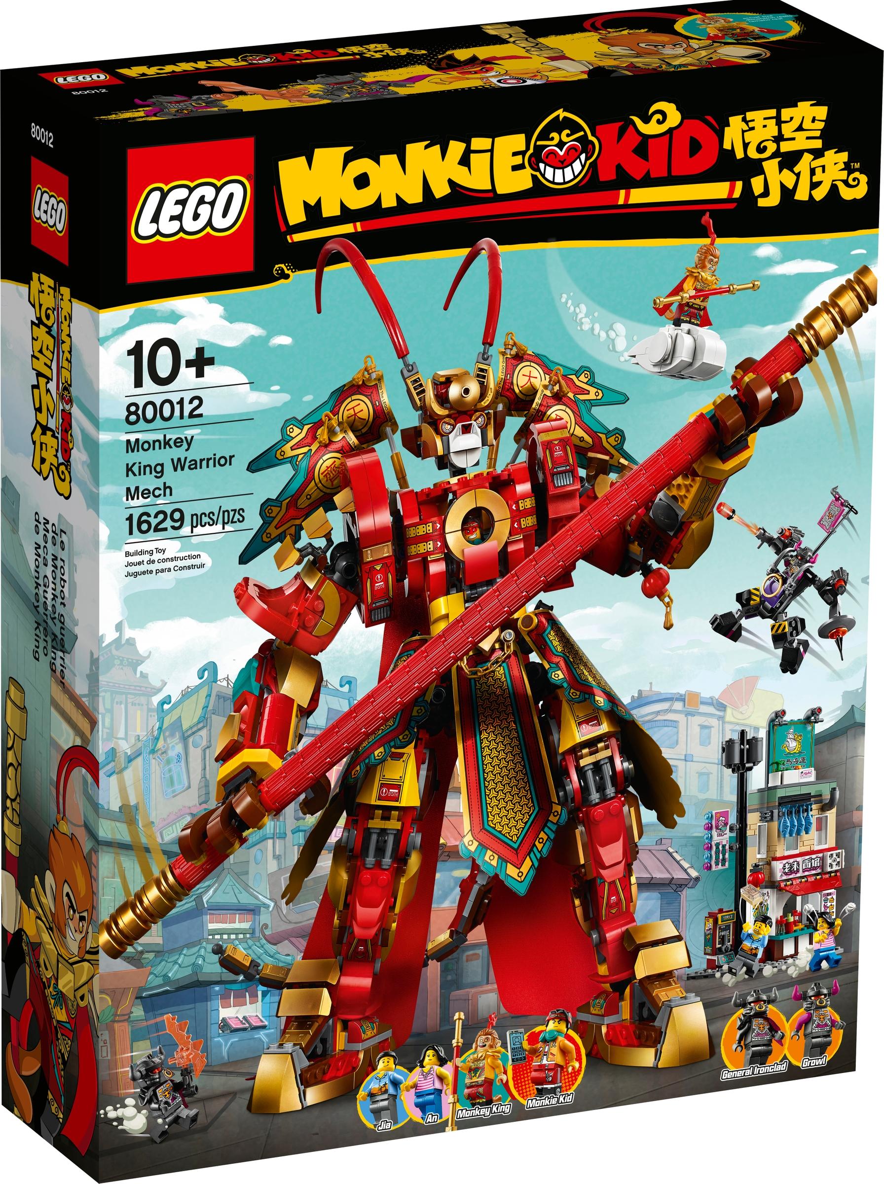 lego 80012 monkey kingin soturirobotti