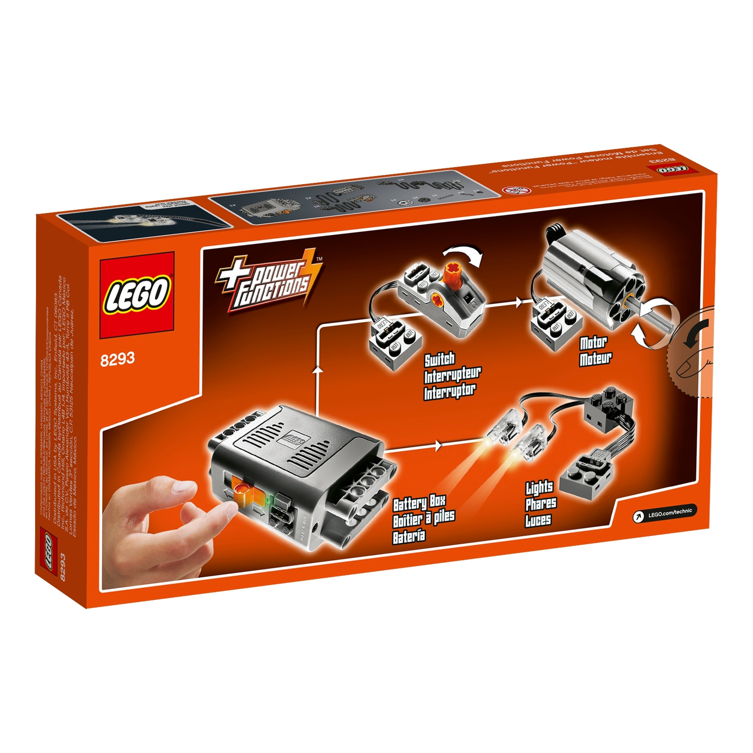 lego 8293 power functions moottorit
