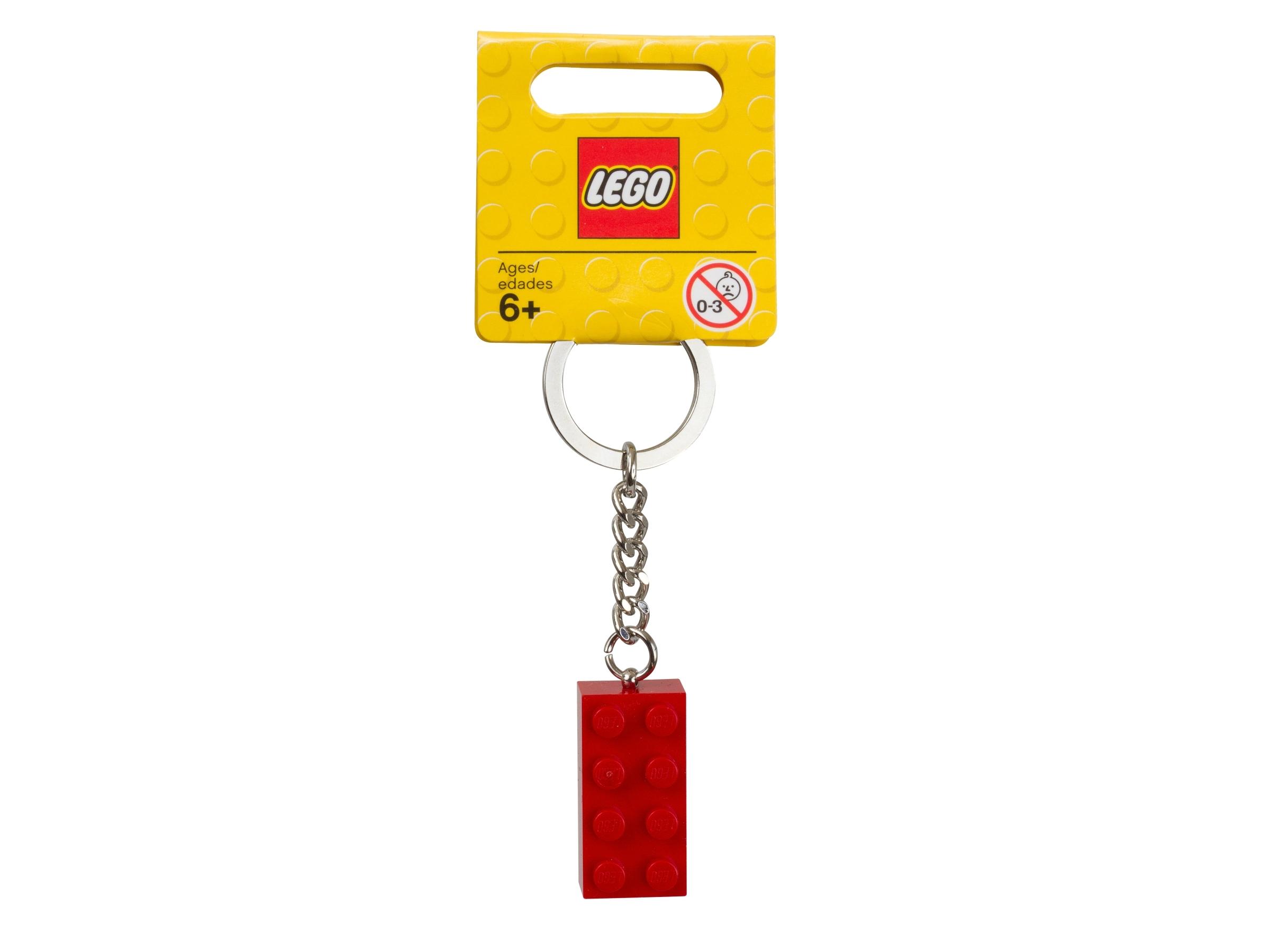 lego 850154 punainen 2x4 palikka avaimenpera
