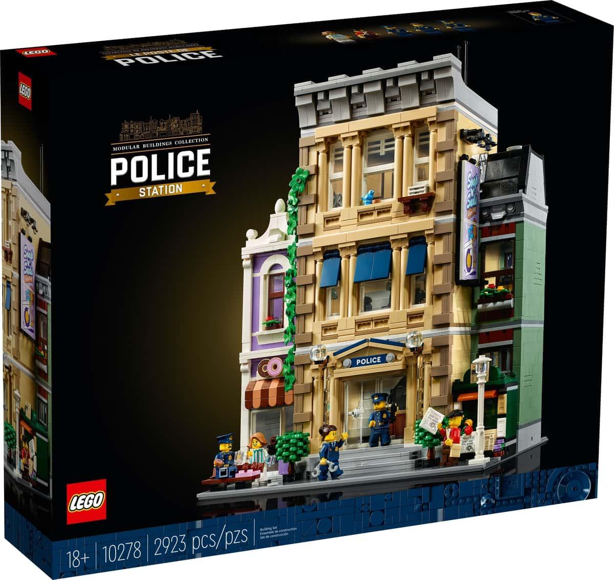 LEGO 10278 Poliisiasema