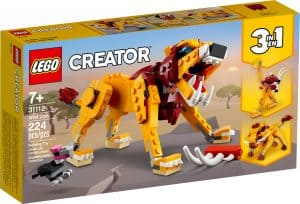 lego 31112 villi leijona