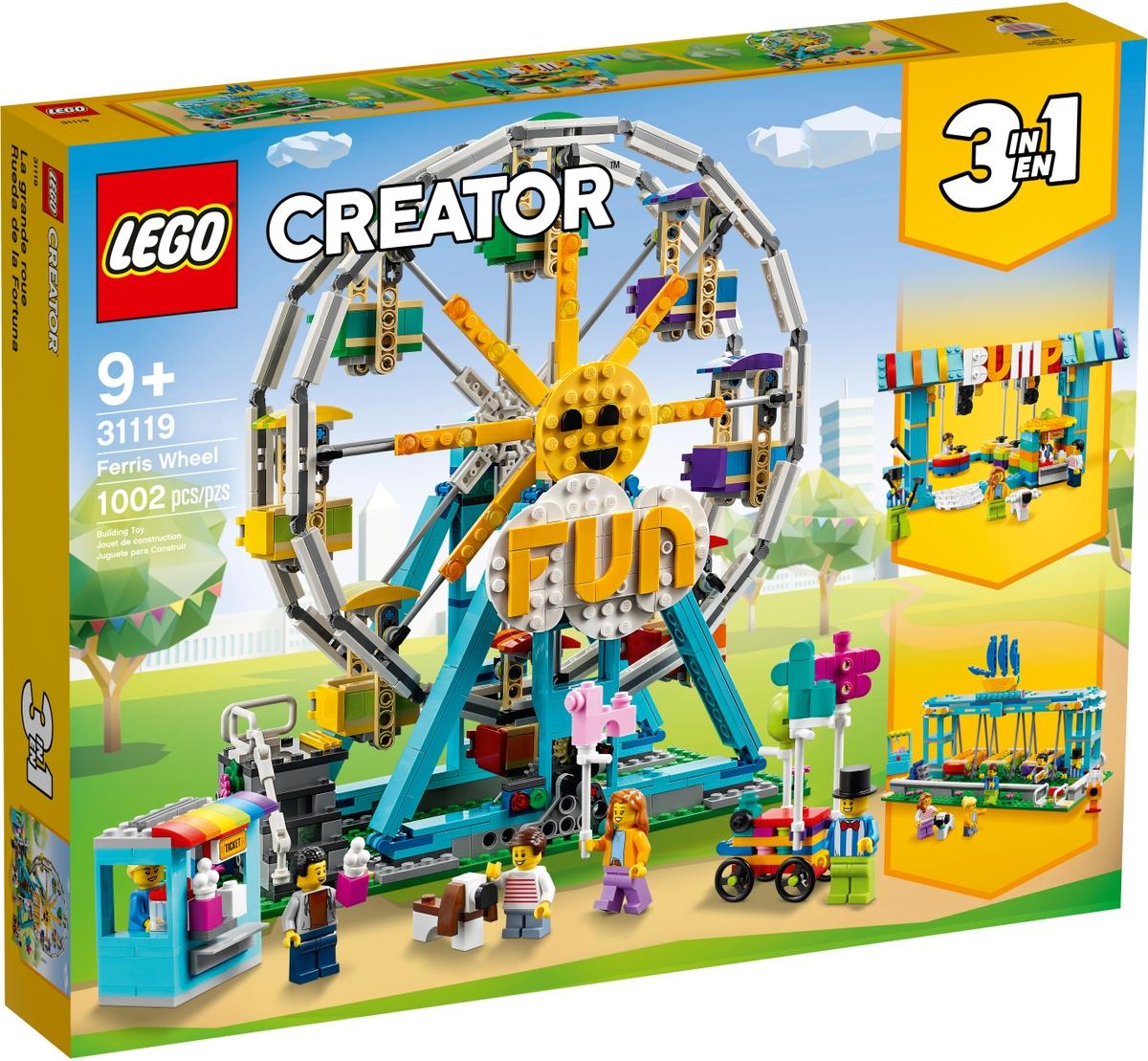 LEGO 31119 Maailmanpyörä - 20210517