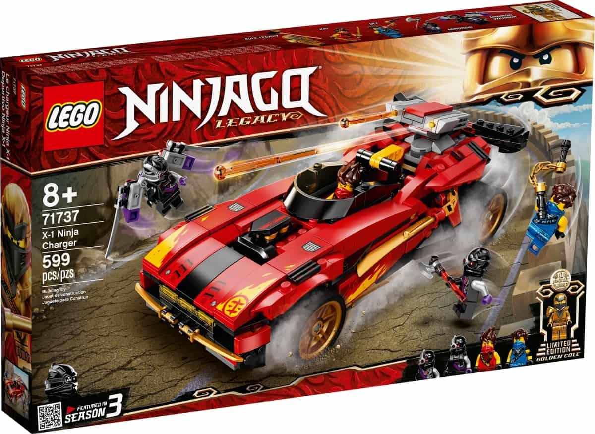 lego 71737 ninja auto x 1