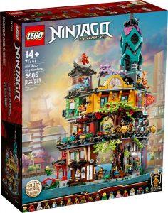 lego 71741 ninjago cityn puutarhat