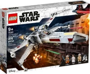 lego 75301 luke skywalkerin x wing havittaja