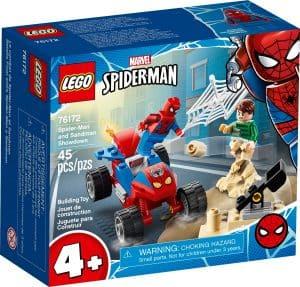 lego 76172 spider manin ja sandmanin valienselvittely