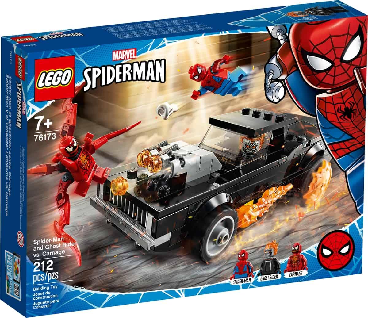 lego 76173 spider man ja aaveajaja vastaan carnage