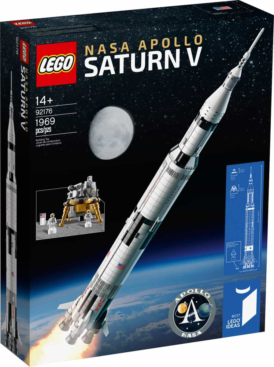 lego 92176 nasa apollo saturn v