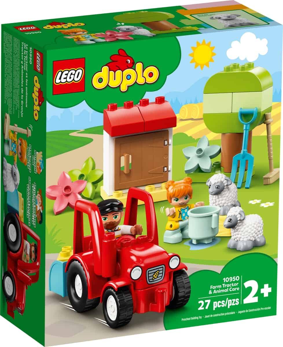 lego 10950 maatilan traktori ja hoitoelaimet