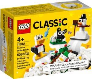 lego 11012 luovan rakentajan valkoiset palikat