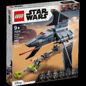 LEGO 75314 The Bad Batch ja hyökkäyssukkula - 20210506