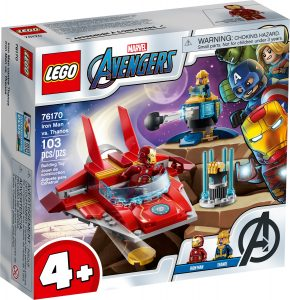 lego 76170 iron man vastaan thanos