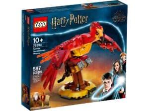 lego 76394 fawkes dumbledoren feenikslintu