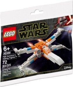 lego 30386 poe dameronin x wing fighter