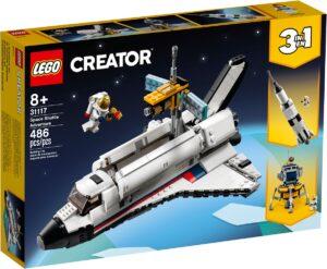 lego 31117 avaruussukkulaseikkailu