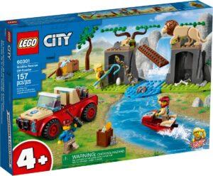 lego 60301 villielainten pelastusmaasturi