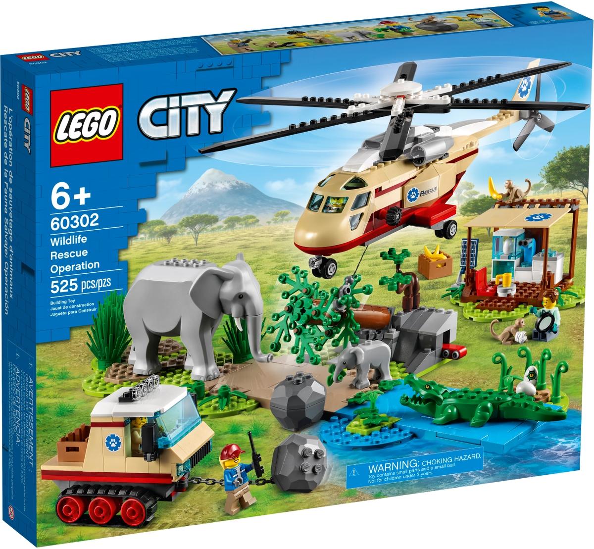lego 60302 villielainten pelastusoperaatio