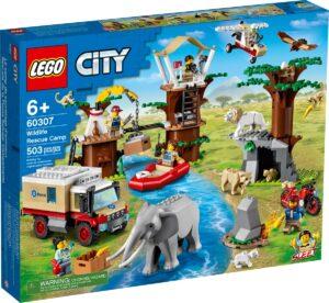 lego 60307 villielainten pelastusleiri