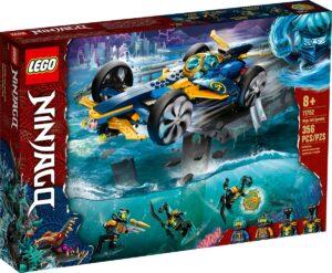 lego 71752 ninjan vedenalainen kiituri