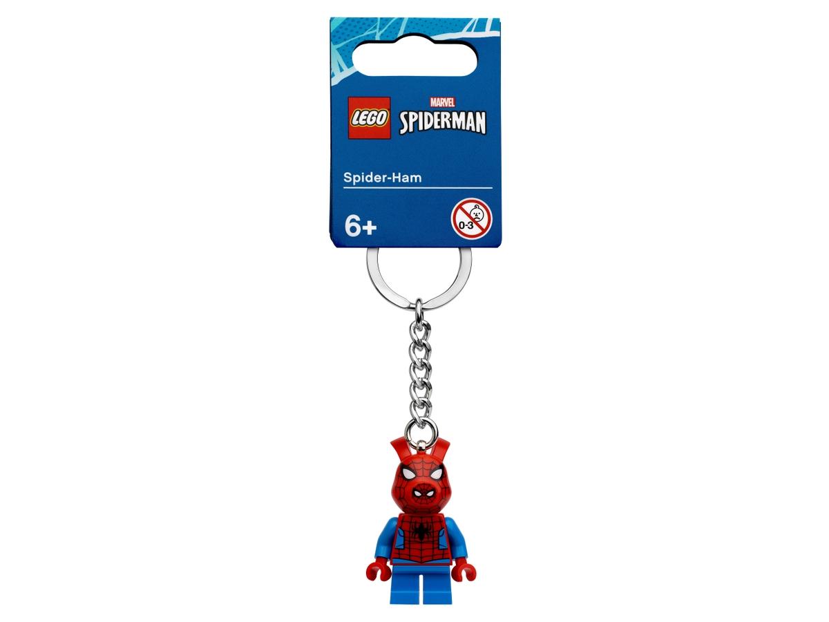 lego 854077 spider ham avaimenpera