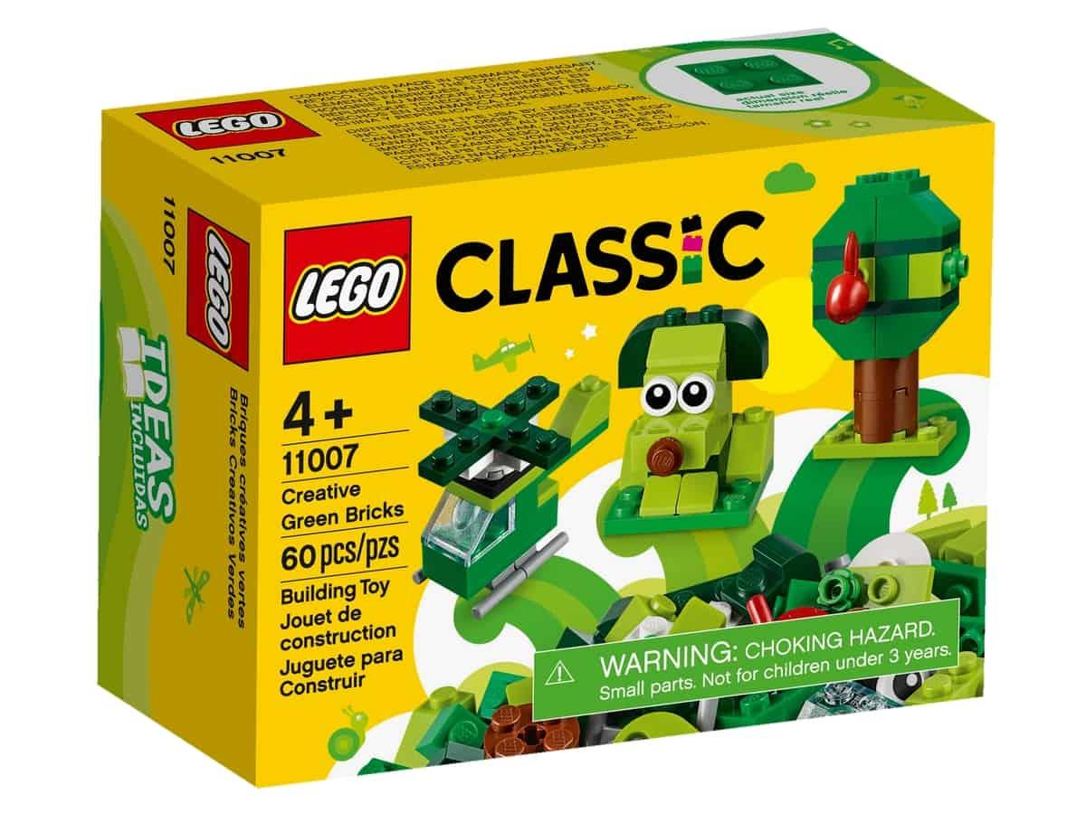 lego 11007 luovat vihreat palikat