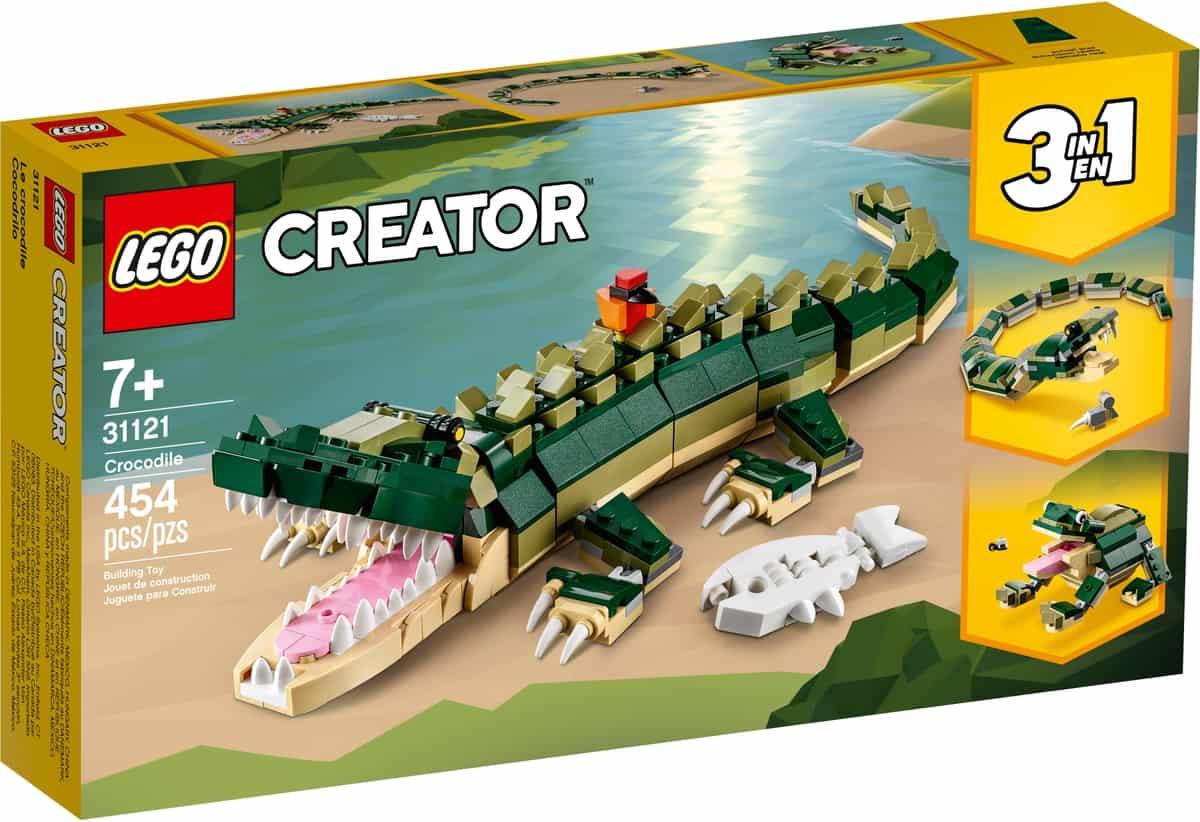 lego 31121 krokotiili