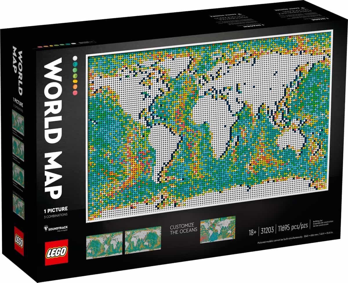 lego 31203 maailmankartta