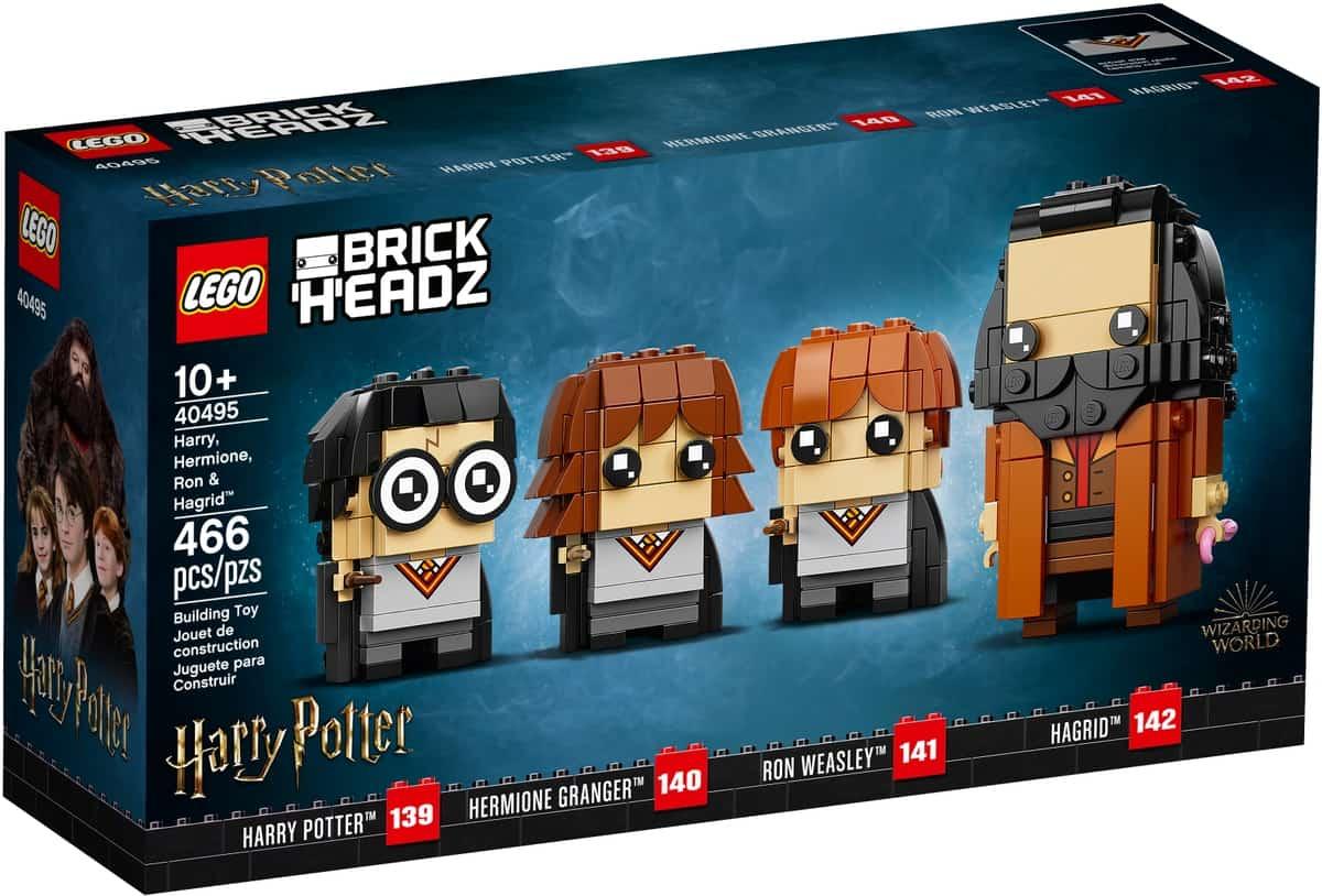 lego 40495 harry hermione ron ja hagrid