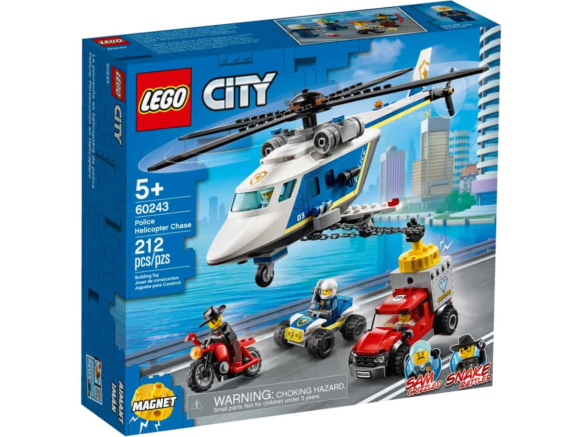 lego 60243 takaa ajo poliisihelikopterilla