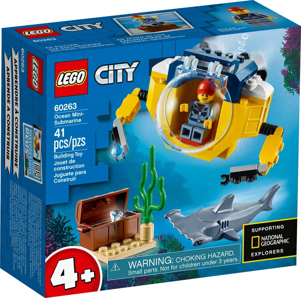 lego 60263 valtameren minisukellusvene
