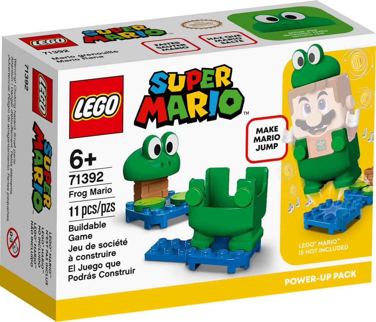 lego 71392 frog mario tehostuspakkaus
